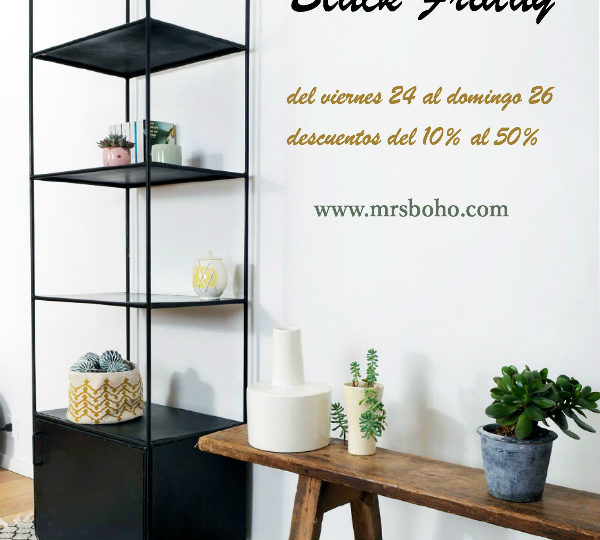 Black Friday en Mrs Boho